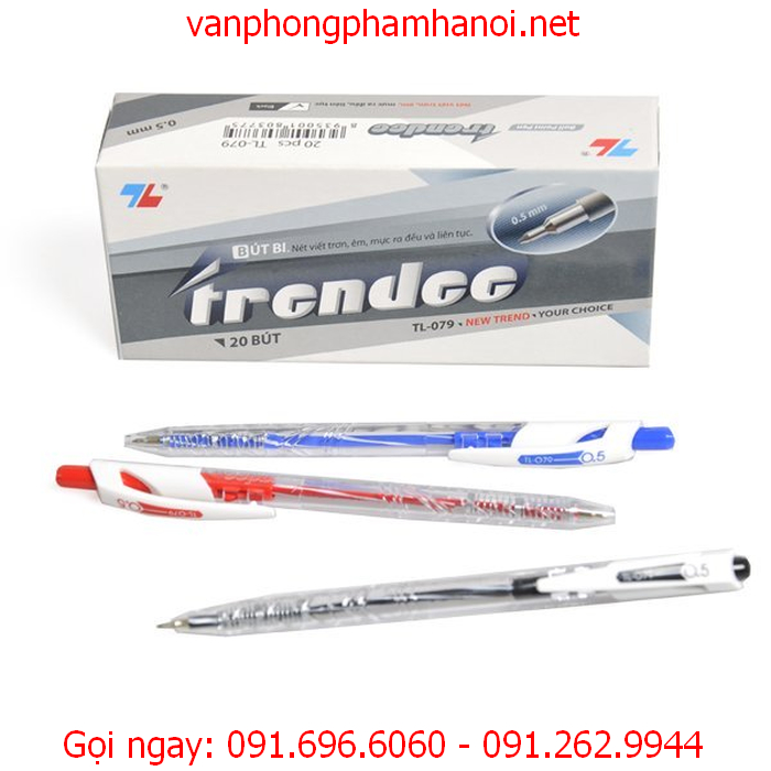 phân biệt bút bi Thiên Long bằng cách nào