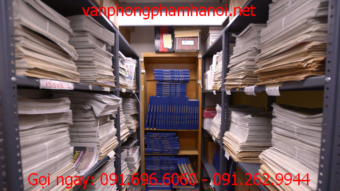 Chọn thiết bị văn phòng phẩm phù hợp để lưu trữ